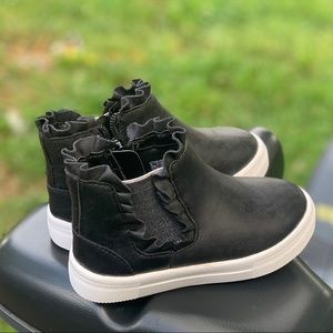 wonder nation Shoes - Toddler Girls Casual Ruffle Sneaker Bootie New